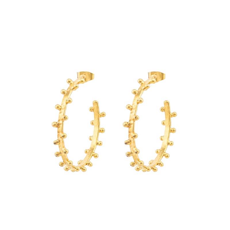 Boucle d'oreilles Golden Dots