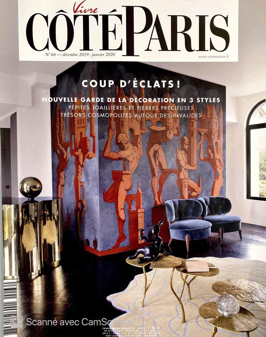 Coté Paris couverture
